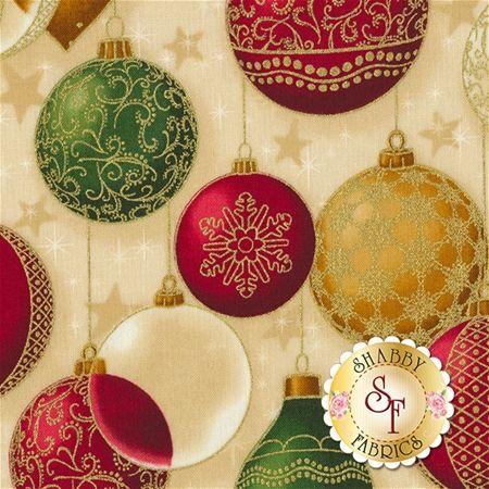 Winter's Grandeur 5 16585-223 Holiday by Robert Kaufman Fabrics