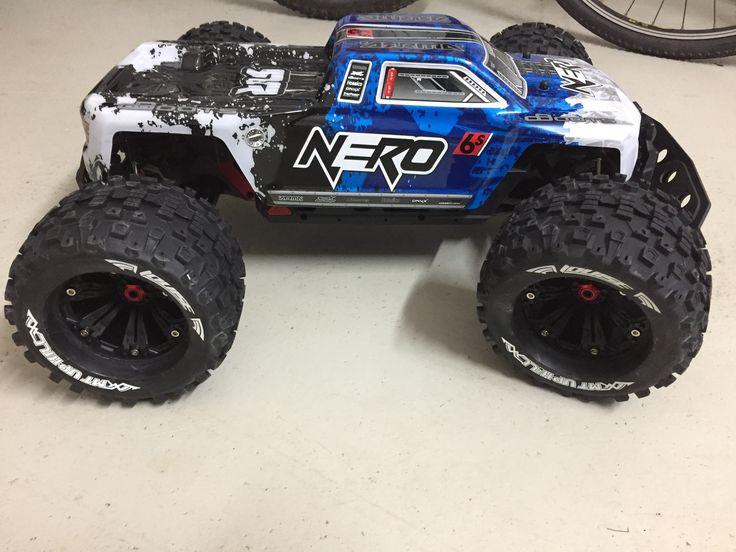 Arrma Nero Rc cars and trucks, Rc cars, Remote control