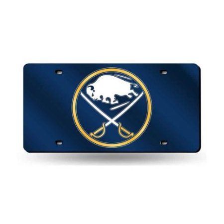 Sabres Primary Logo License Plate Tag in Blue