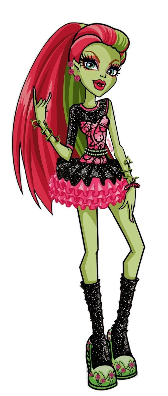 1000 images about monster high plant ghouls on - Monster high venus ...