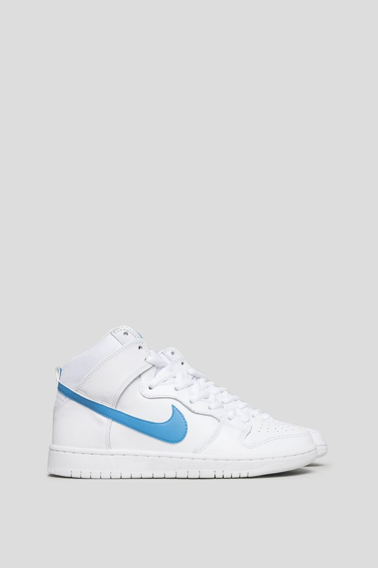 "NIKE SB DUNK HIGH TRD ""MULDER"" WHITE ORION BLUE"