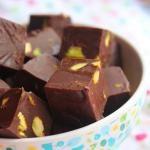 2 Min Microwave White Chocolate Fudge Recipe / White Chocolate