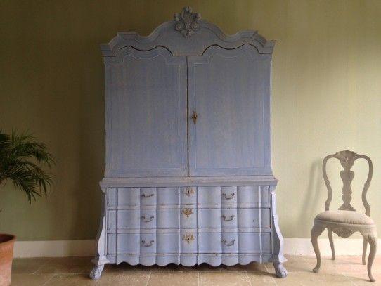 Bemalte Möbel Romantischen Motiven ~ Möbel Ideen & Innenarchitektur