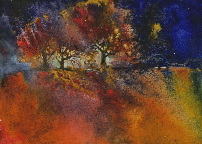Ann Blockley, English watercolorit and daughter of the late artist, John Blockley.