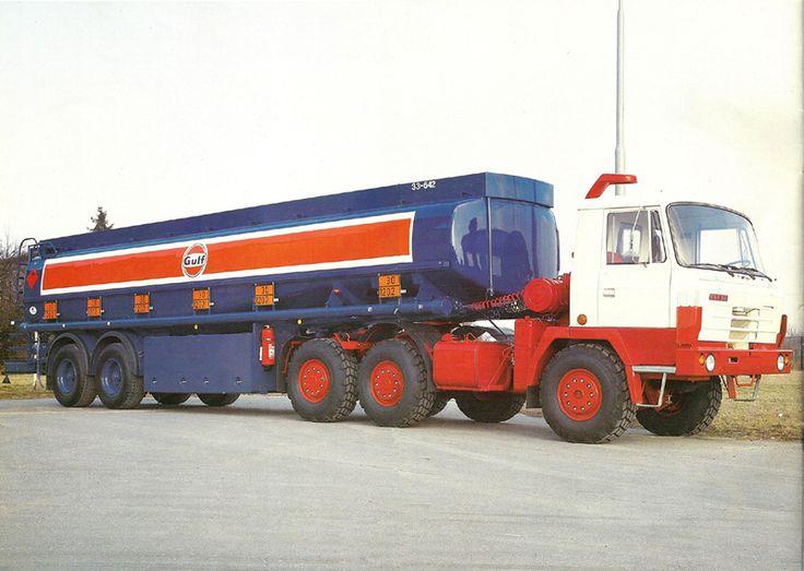 Tatra 815 tanker truck
