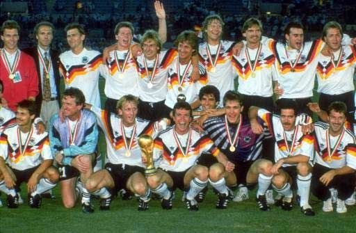 World Cup Champions 1990. Germany.