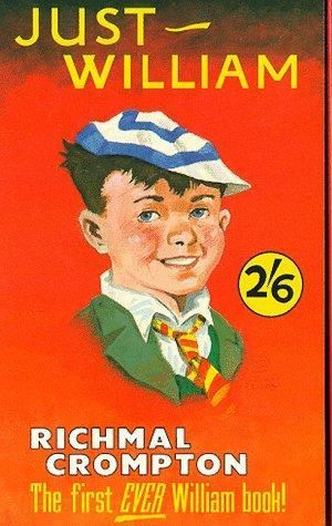 Just William by Richmal Crompton.  First in a series of books about the school boy and his friends.