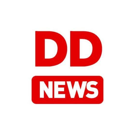 Watch DD News live streaming online | Hindi TV | India logo