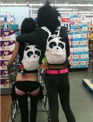 Funny Pictures Of People At Walmart. What a cute couple