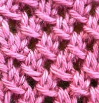 Irish Mesh Stitch - The Weekly Stitch