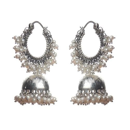Silver Jhumka Earrings | Offer Active Since: 06 Sep, 2013 Offer Details: