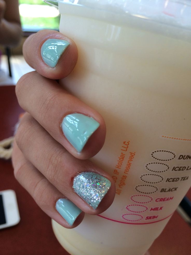 Klassy nails black horse pike Haddon heights nj. And my vanilla bean Coolata from dunkin' donuts!!
