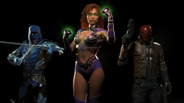 Injustice 2 Fighter Pack 1 Revealed Will Include Red Hood Starfire and Sub-Zero   Injustice 2 Fighter Pack 1 revealed will include Red Hood Starfire and Sub-Zero  Though you still have to wait 11 more days to get your hands on the game Warner Bros. Interactive Entertainment and DC Entertainment have revealed the first batch of DLC for the upcoming Injustice 2! The first batch of DLC known as Fighter Pack 1 is set to includeBatmans second protégé Red Hood royal exile from Tamaran Starfire and…