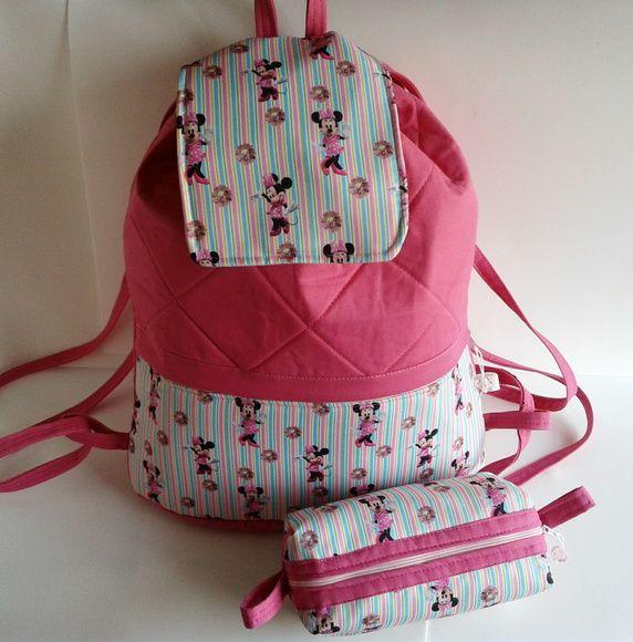 Mochila Minnie kit escolar