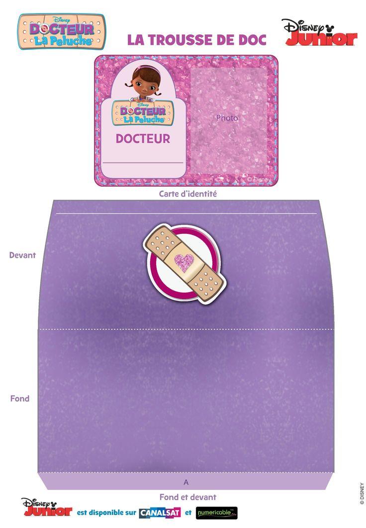 """Le kit de docteur """"Docteur La Peluche"""""""