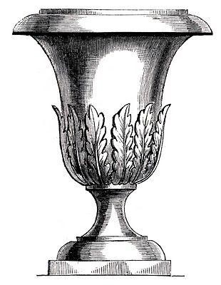 *The Graphics Fairy LLC*: Free Vintage Clip Art - Lovely Garden Urns