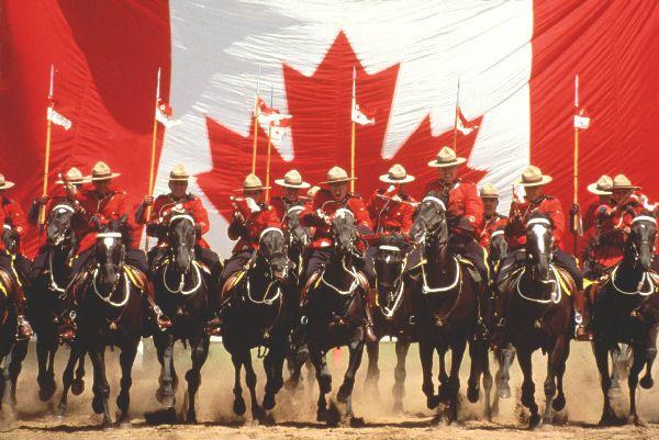 RCMP Ride - Canada Patriotic - CKA