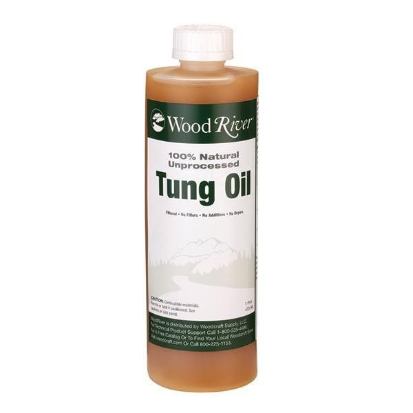 Buy WoodRiver Pure Tung Oil Pint at Woodcraft.com
