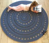 hand knitting carpet