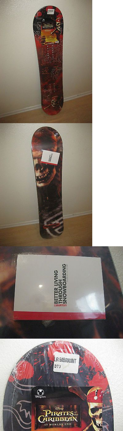 Snowboards 93825: Burton Pirates Of The Caribbean Disney Kids Chopper Snowboard Brand New Sealed BUY IT NOW ONLY: $89.0