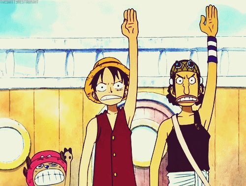 one piece animated GIF