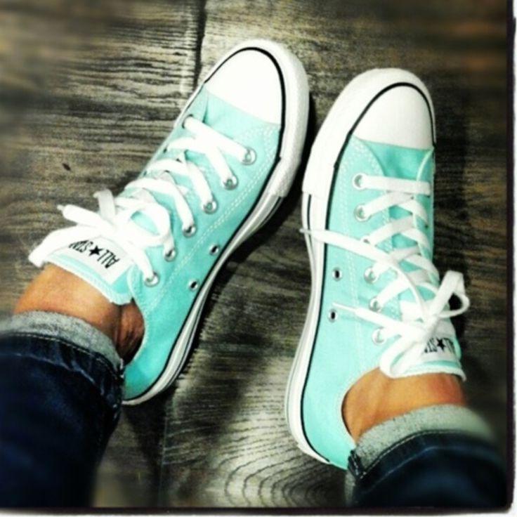 Tiffany blue Converse?! Yes please!!!