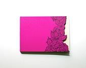 Handmade Flower Cut Pink Notebook $15: Handmade Illustrations, Handmade Notebooks, Gorgeous Handmade, Cut Pink, Hands Cut, Flowers Cut, Pink Notebooks, Handmade Flowers, Beautiful Notebooks