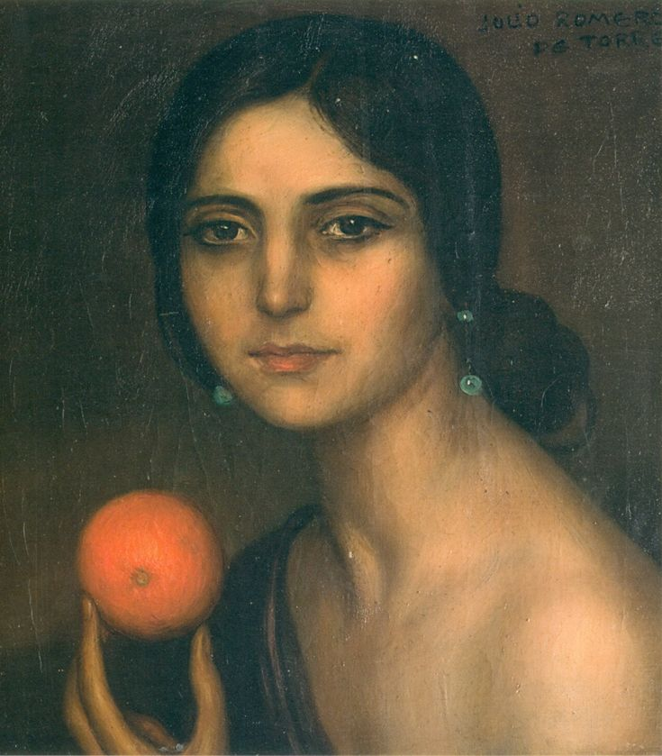Lips and Love: Gypsy of the Orange – Julio Romero de Torres | pastnow