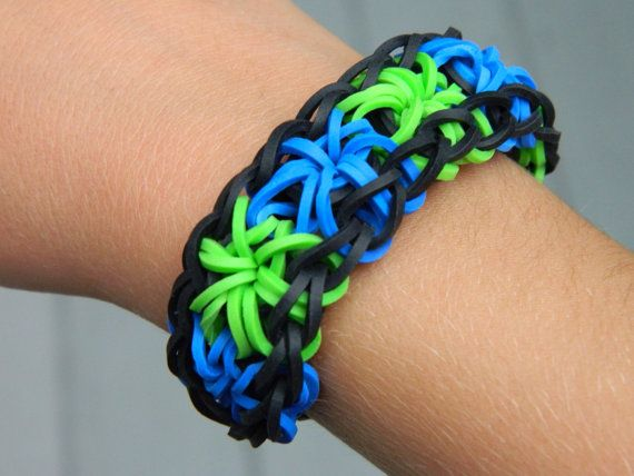 how to make different loom bands