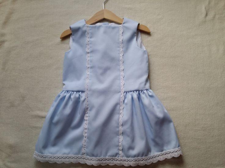vestido niña de gotitasdecielo en Etsy
