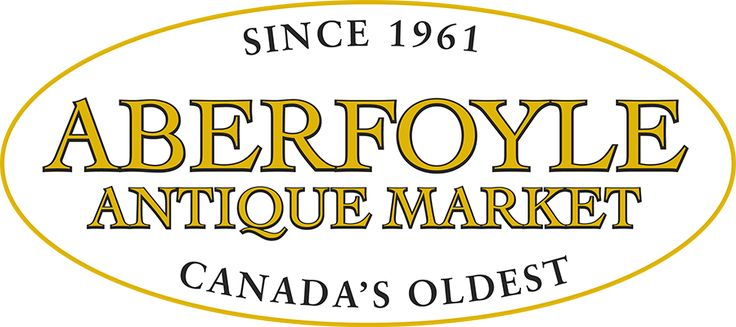 Aberfoyle Antique Market, Guelph, ON ~ Open Sundays from April 30 to October 29 2017 | 8:00 am-4:00 pm