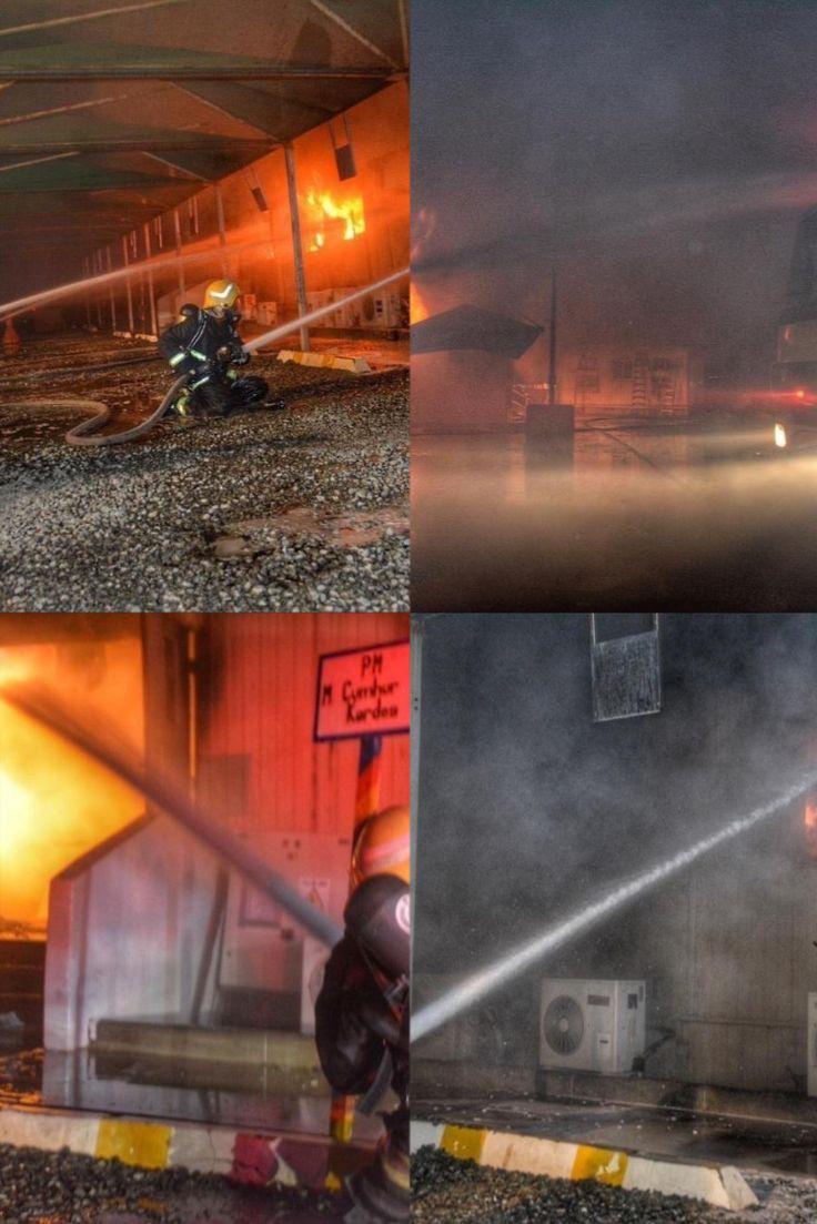 عاجل حريق ضخم في محطة قطار جدة في السعودية Concert