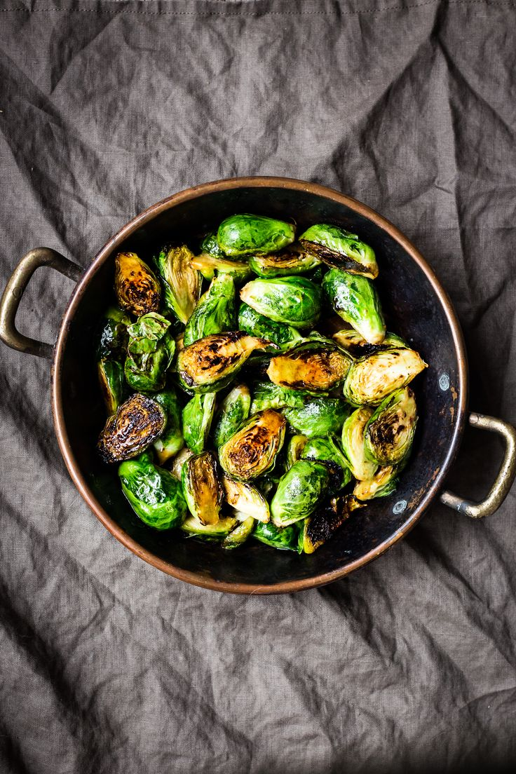 Hoisin-glazed brussels sprouts