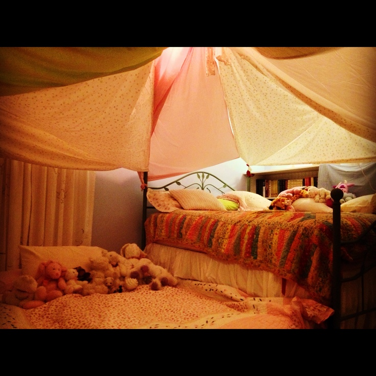 Blanket forts for all forts places i want to be in
