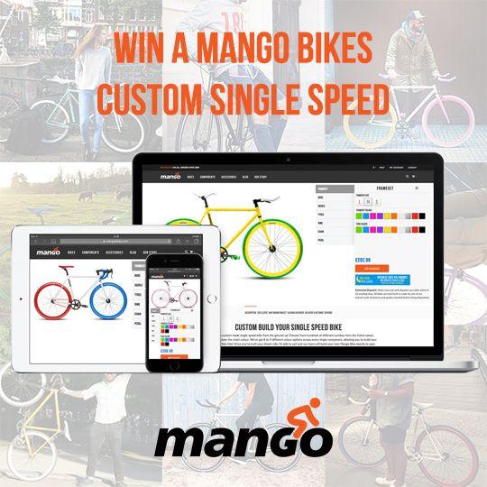 Help me win a custom single speed bike from @mangobikes, it just takes a few seconds!