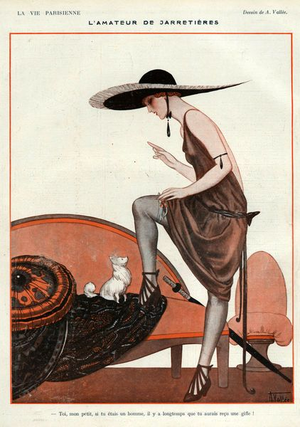 'La+Vie+Parisienne,+1922'+by+Advertising+Archives+on+artflakes.com+as+poster+or+art+print+$17.33