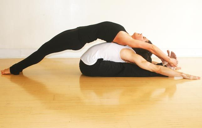 Don't think of it as yoga, think of it as sexercise
