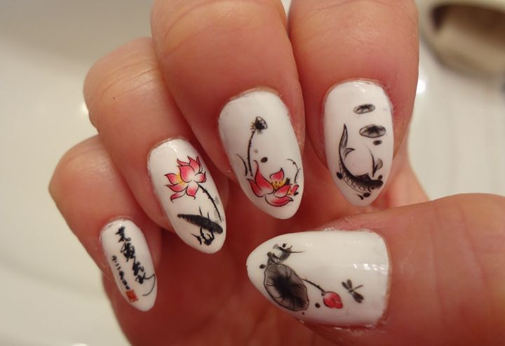 gorgeous nail art <3