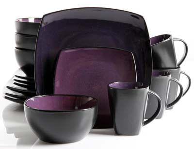 9. Gibson Soho Lounge 16-Piece Dinnerware Set