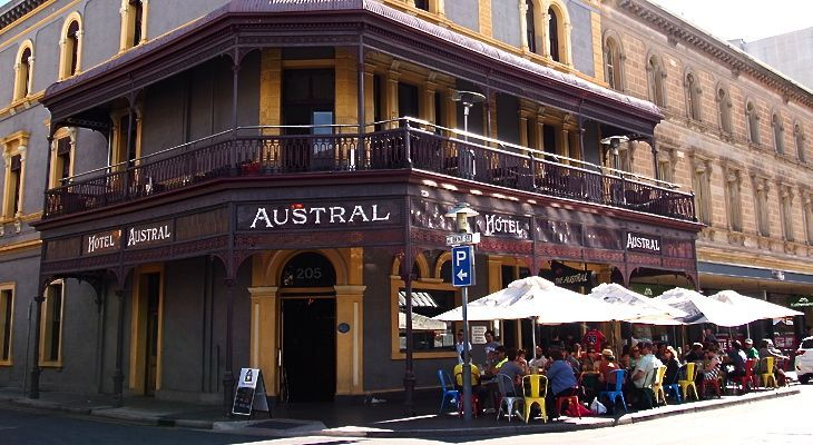 The Austral – A Great Pub On Rundle Street East, Adelaide