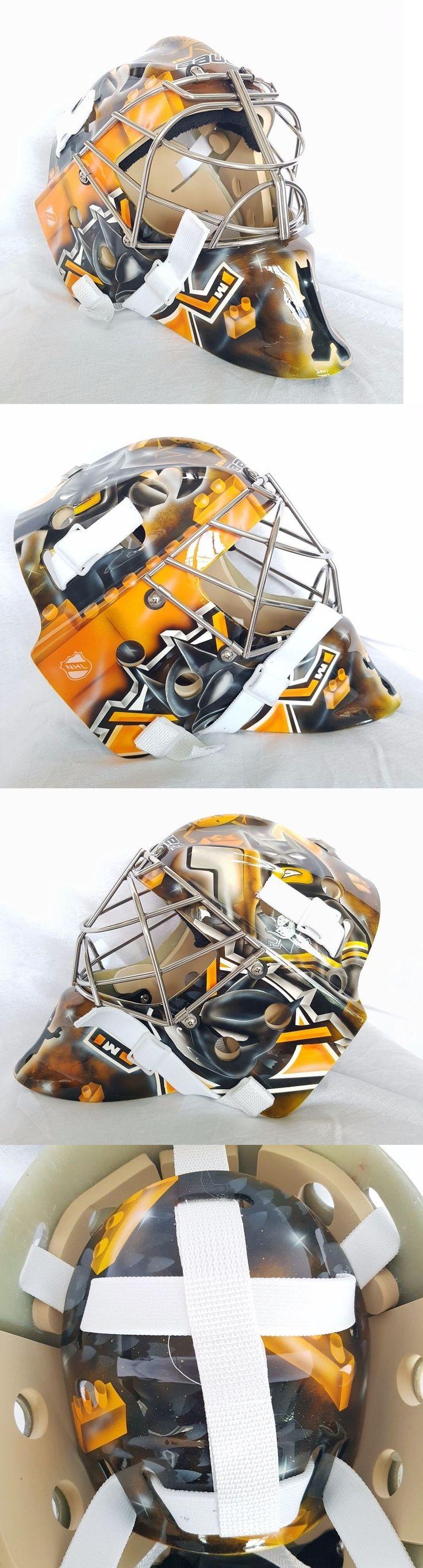 Face Masks 79762: Ducks Anaheim Lego Batman Goalie Mask Hockey Helmet Nhl Full Size Adult -> BUY IT NOW ONLY: $999.99 on eBay!