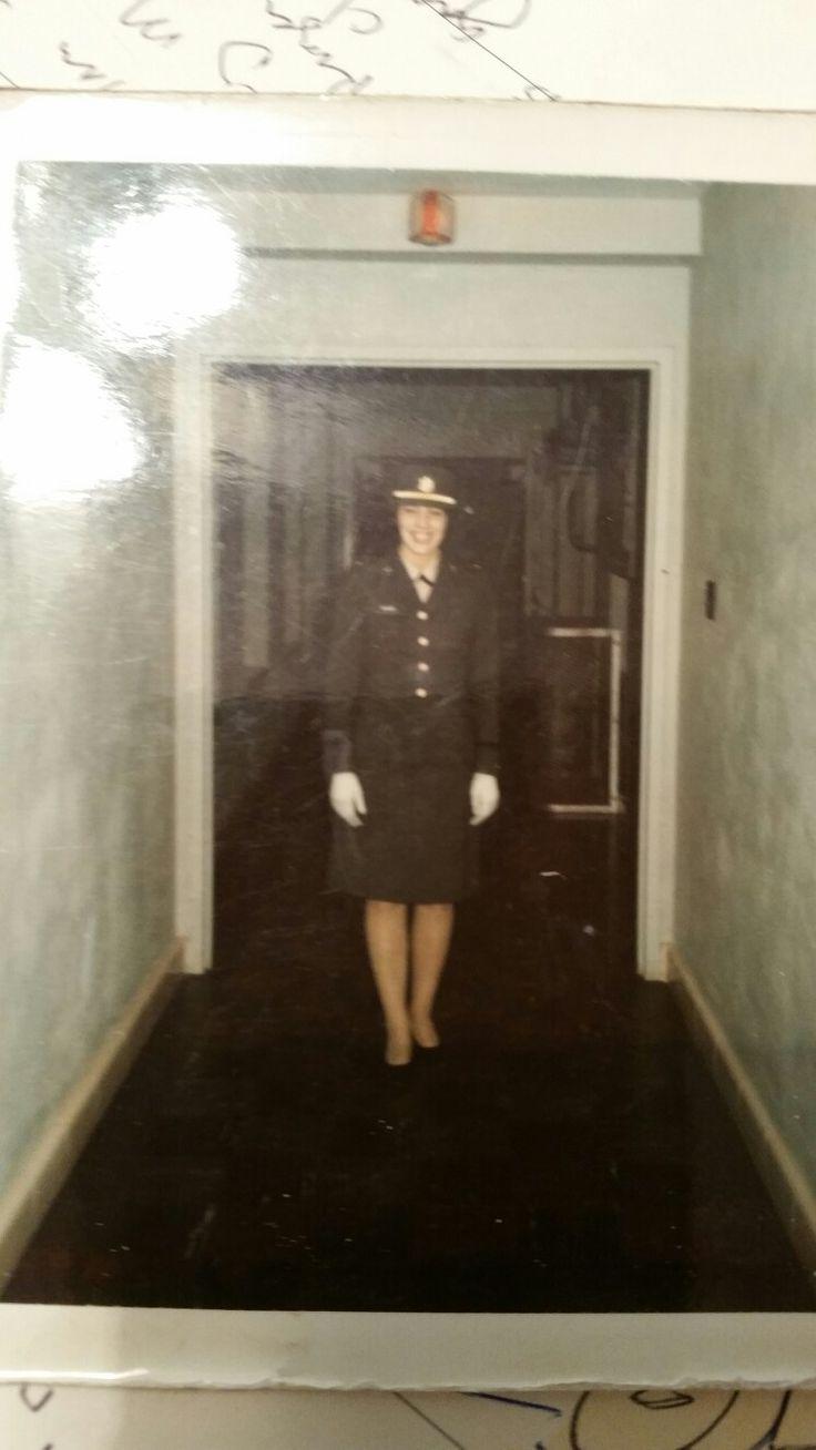Nancy in Nov 1967 prior to going to Fort Riley