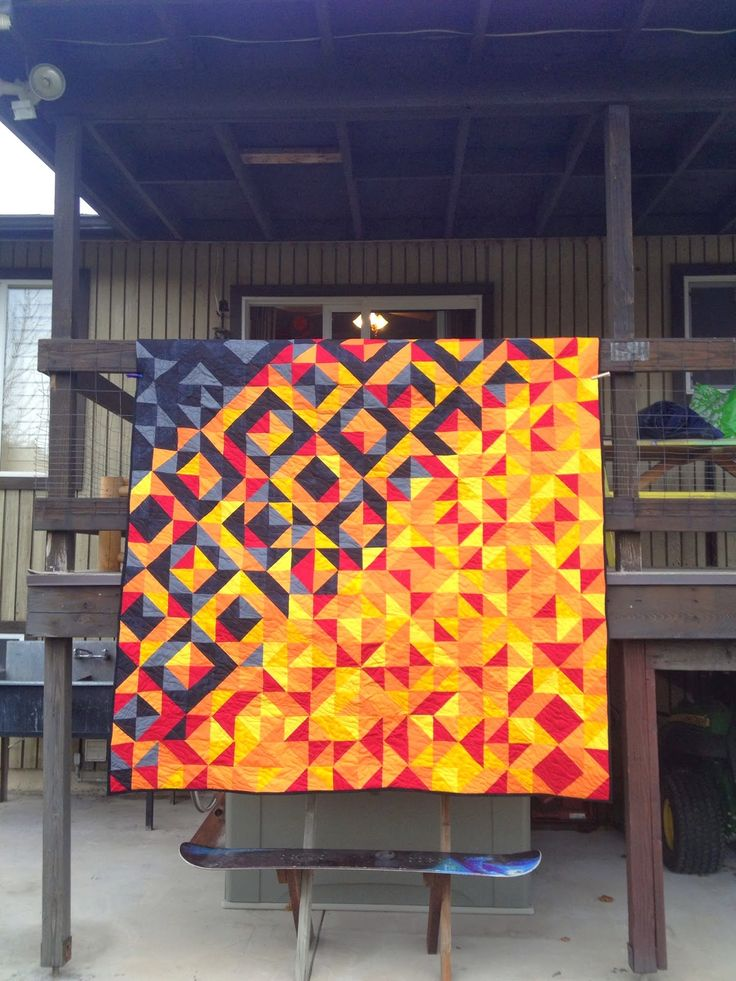Mama Bear Quilting: Fire fighter quilt