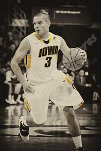 Cully Payne (Guard) - Iowa Hawkeye Basketball 2010-2011