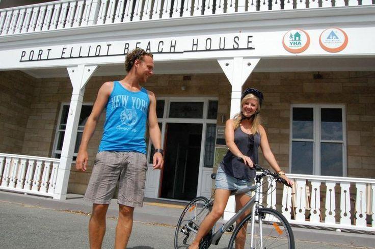 Hostel. $23 per naight.  Port Elliot Beach House YHA in Port Elliot, Australia - Lonely Planet