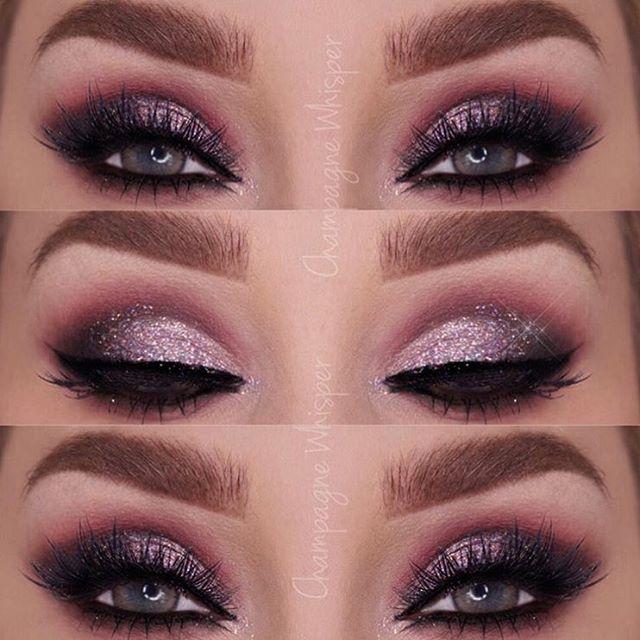 WEBSTA @ makeupaddictioncosmetics - Beautiful look by @champagnewhisper using her #makeupaddictionbrushes #MakeupAddictionCosmetics