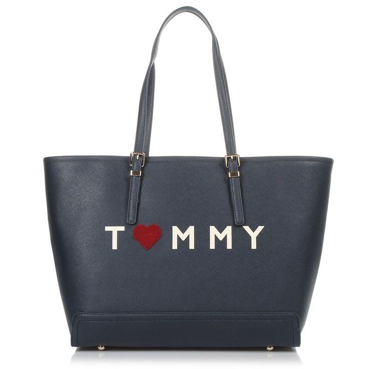 Τσάντα Ώμου Tommy Hilfiger Honey Tote Love Tommy | Για αγορά πατήστε πάνω στην εικόνα