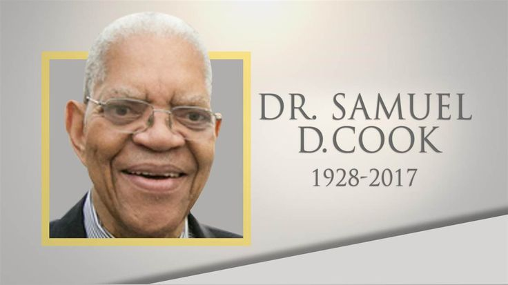 Life well lived: Educator and activist Samuel D. Cook dies at 88 June 11th, 2017 Educator and activist Samuel DuBois Cook, who grew up with Martin Luther King, Jr. and served as president of Dillard University in New Orleans for 22 years, died May 29 at the age of 88.  http://on.today.com/2reuGnK via @todayshow