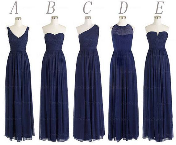 blue bridesmaid dresses - Google Search