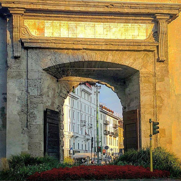 Buongiorno #Milano Eccoci con Antoine Laguerre a Porta Romana #milanodavedere Milano da Vedere